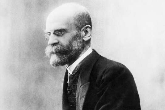 Emile Durkheim.