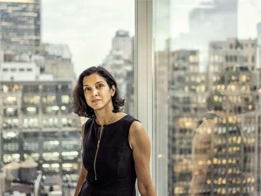 Radhika Jones était rédactrice en chef des pages « Livres » du« New York Times».