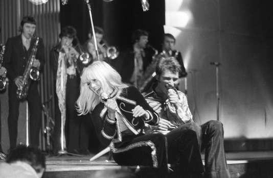 Sylvie Vartan et Johnny Hallyday, en 1967.
