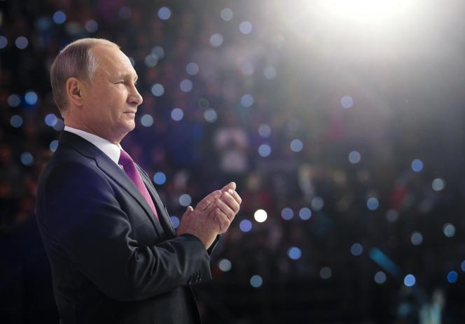 Vladimir Poutine, le 6 décembre 2017.