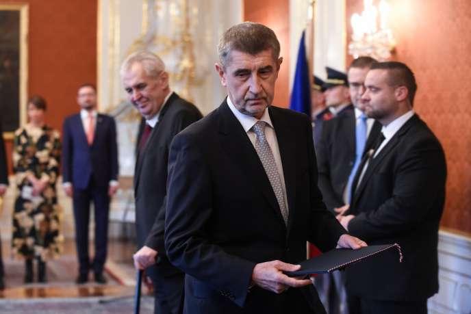 Andrej Babis, le 6 décembre à Prague.
