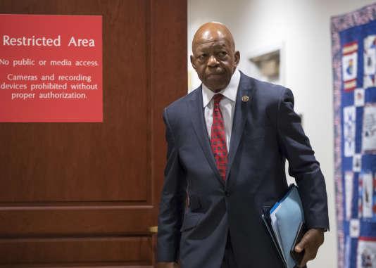 Elijah Cummings, élu démocrate de la Chambre des représentants, à Washington le 6 décembre 2017.
