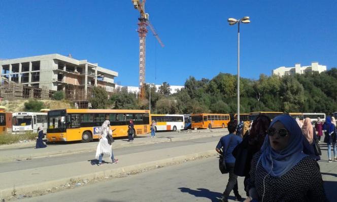 L'Algérie a multiplié les constructions de bâtiments, comme ici sur le campus d'Alger.