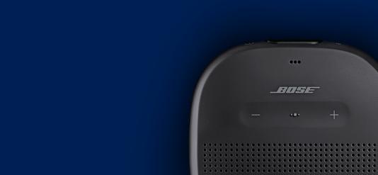 La Bose Soundlink Microest étanche et robuste.