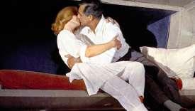 Scène finale de«La Mort aux trousses», d'Alfred Hitchcock, avec Eva Marie Saint et Cary Grant.