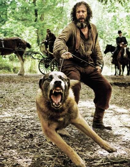 Une des scènes particulièrement violentes du film de Tarantino que les téléspectateurs n'ont pas pu voir.
