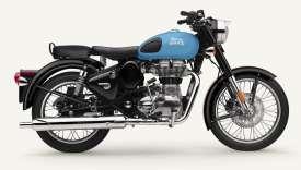 Le monocylindre de 500 m3 induit une conduite à l'opposée des motos sportives et bénéficie d'un allumage électronique qui répond aux normes antipollution.