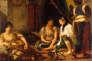 « Femmes d'Alger dans leur appartement» (1834), d'Eugène Delacroix.