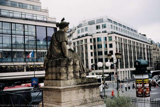 L'Autorité des marchés financiers (AMF), place de la Bourse, à Paris.