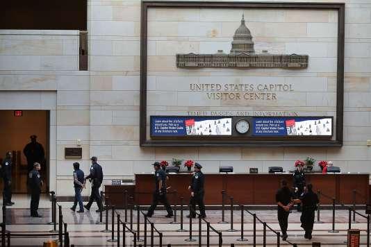 Au Capitole à Washington, le 7 décembre.