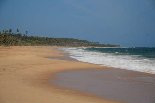 Une plage près de Tangalla.