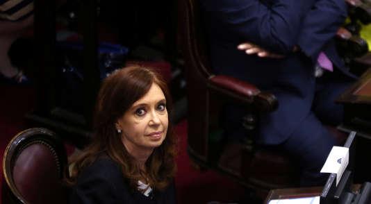 Cristina Fernandez de Kirchner, le 29 novembre 2017.