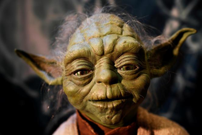 La marionnette originale de Yoda dans «StarWars», photographiée en 2016 lors de l'exposition «Star Wars Identities», à Londres.