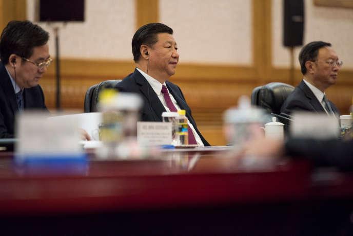 Xi Jinping, le président chinois, le 7 décembre à Pékin. REUTERS/Fred Dufour/Pool
