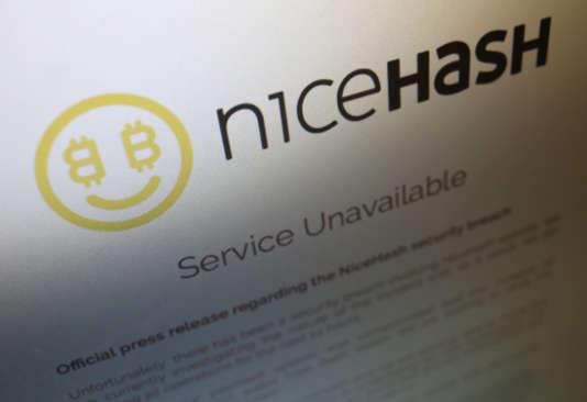 Nicehash a annoncé, mercredi 6 décembre, avoir été victime d'un piratage.