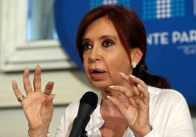 Cristina Fernandez, le 7 décembre, à Bueno Aires.