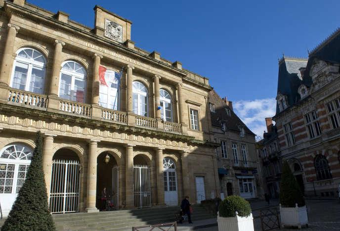 La mairie de Moulins.