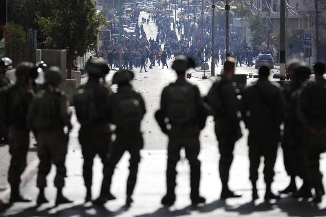 Affrontements à Bethléem entre Palestiniens et forces israéliennes jeudi 7 novembre après l'annonce des Etats-Unis de transférer leur ambassade à Jérusalem.
