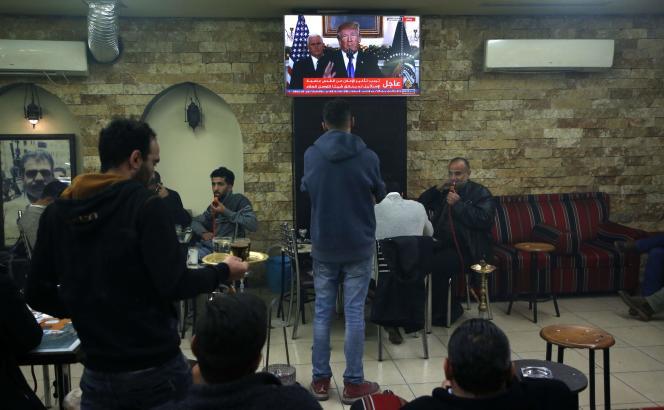 A Ramallah, le 6 décembre 2017.