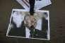 Un portrait de Donald Trump piétiné par un manifestant à Gaza, le 7 décembre 2017.