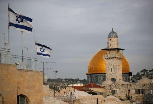 Le Dôme du rocher, à Jérusalem, le 6 décembre.