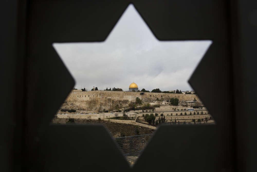 La vieille ville de Jérusalem, le 6 décembre. Le président américain a également demandé au département d'Etat de préparer le déménagementde l'ambassade américaine en Israël de Tel-Aviv à Jérusalem.