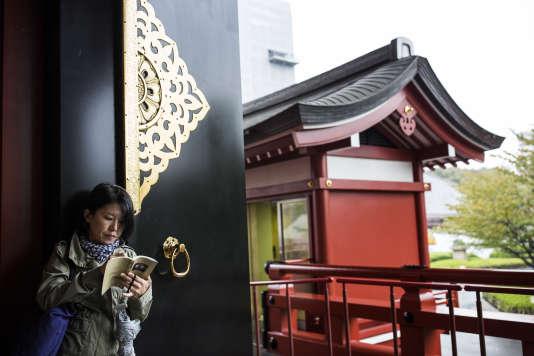 Le temple Senso-ji, dans le quartier Asakusa, à Tokyo, en novembre 2016.