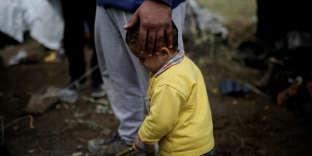 Dans le camp de Moria, à Lesbos, le 30 novembre.