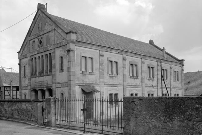 Le foyer culturel Georges-Meyer, l'ancienne synagogue de Dambach-la-Ville.