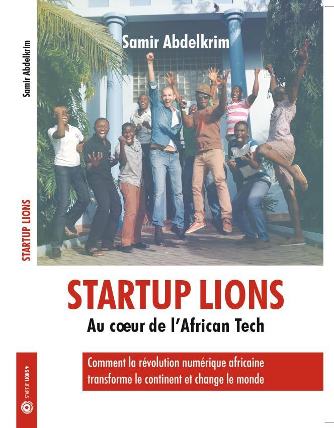 La couverture de« Startup Lions» de Samir Abdelkrim, en vente sur Amazon.