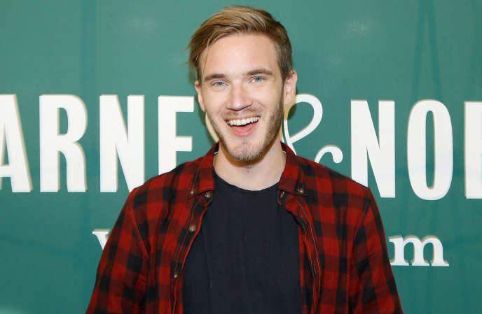 Le youtubeur suédois PewDiePie.