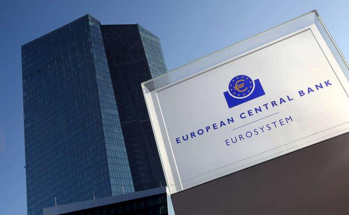 La Banque centrale européenne à Francfort, 19 janvier.