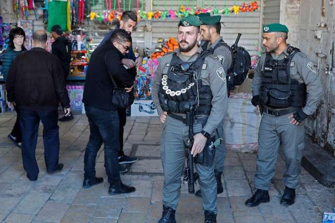Dans la vieille ville de Jérusalem vendredi 8 décembre.