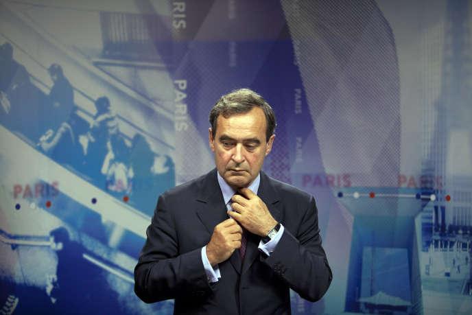Bruno Lafont, le 25 juillet 2012, à Paris.