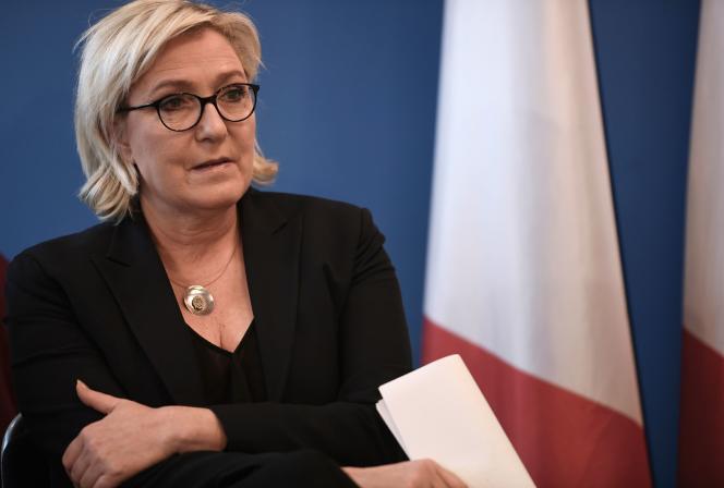 Marine Le Pen, le 8 décembre 2017.