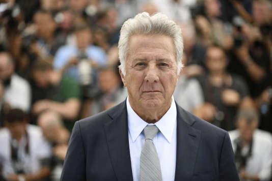 L'acteur Dustin Hoffman en mai 2017 au Festival de Cannes.