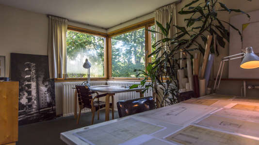 La maison du grand designer Alvar Aalto, à Helsinki.