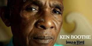 Ken Boothe en portrait sur un visuel de promotion de l'album« Inna de Yard».