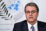 Le directeur général de l'Organisation mondiale du commerce, Roberto Azevêdo, lors d'une conférence de presse à Genève le 27 novembre, avant la conférence ministérielle de l'OMC à Buenos Aires.