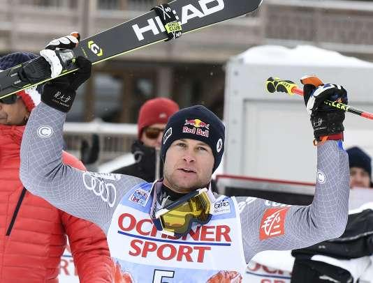 Il s'agit de la 20e victoire du skieur en Coupe du monde, devançant l'Allemand Stefan Luitz et l'Autrichien Marcel Hirscher.