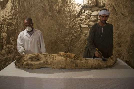 Découverte d'une nouvelle momie — Egypte