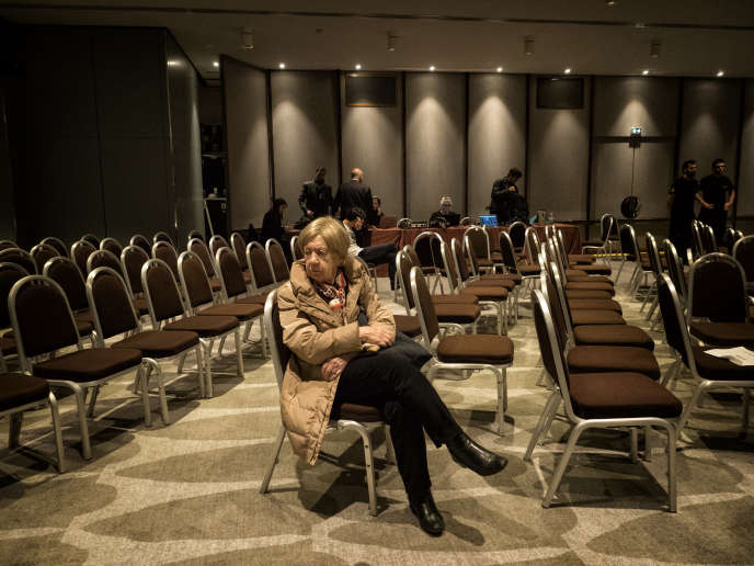 Après un discours de Laurent Wauquiez, le 20 novembre, à Paris.
