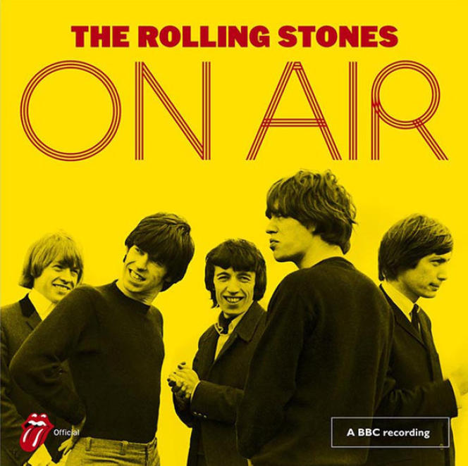 Pochette de l'album « On Air », de The Rolling Stones.