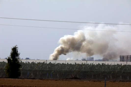 L'armée israélienne a annoncé avoir détruit, dimanche, un tunnel creusé par le Hamas palestinien dans la bande de Gaza; celui-ci débouchait en territoire israélien.