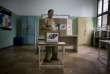 Un bureau de vote à Caracas, où il n'y a pas de file d'attente.