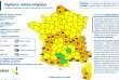 Carte de vigilance de Météo France le 10 décembre 2017 en fin d'après-midi.