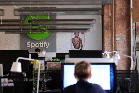 Le suédois Spotify est le numéro un mondial du streaming, la musique en flux.