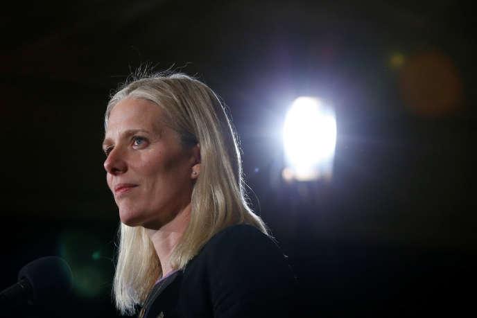 La ministre de l'environnement canadienne, Catherine McKenna, à Ottawa, endécembre 2016.