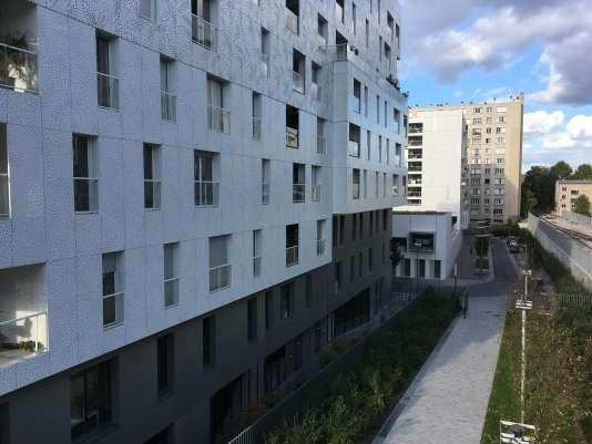Des immeubles neuf dans le 17e arrondissement de Paris.