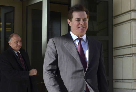 Paul Manafort, le 11 décmebre 2017.